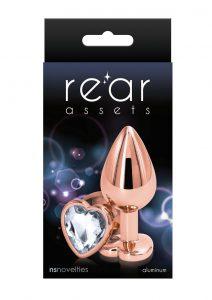 Rear Assets Rose Gold Heart Med Clear