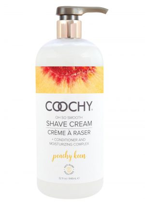 Coochy Shave Cream Peachy Keen 32oz