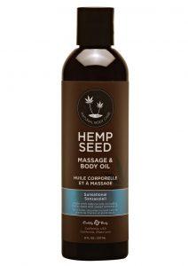 Hemp Seed Massage Oil Vegan Sensational 8oz