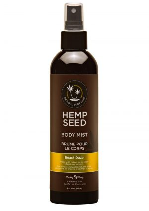 Earthly Body Hemp Seed Body Mist Beach Daze 8oz