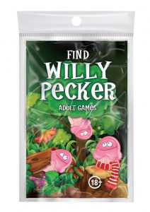 OZZE Find Willy Pecker Book Game