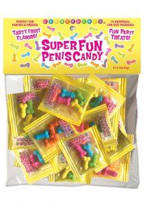 Super Fun Penis Candy (25 Packs Per Bag) *Special Order*