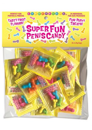Super Fun Penis Candy (25 Packs Per Bag) *Special Order*