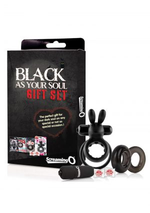 Black As Your Soul Gift Set
