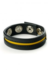 Prowler Red Cock Strap Adjustable - One Size - Black/Yellow