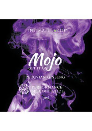 MOJO Peruvian Ginseng Silicone Performance Glide Lubricant 3ml Foil
