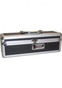 Lockable Vibrator Case Medium Black