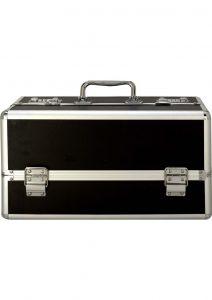 Lockable Vibrator Case Large Black