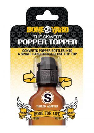 Boneyard Skwert Popper Topper - Small - Black