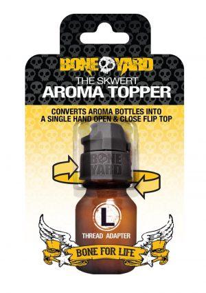 Boneyard Skwert Aroma Topper - Large - Black