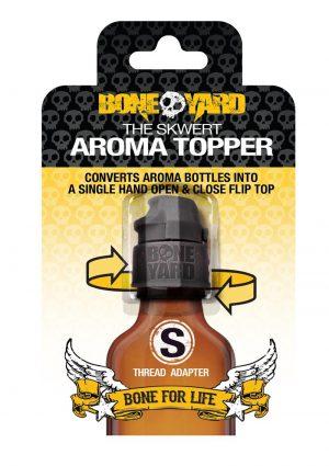 Boneyard Skwert Aroma Topper - Small - Black