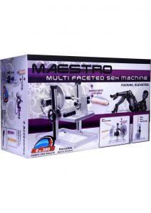 Lovebotz Maestro Multi-Faceted Sex Machine - Gray