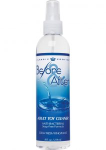 Before and After Anti-Bacterial Toy Cleaner Clean Fresh Fragrance 8oz