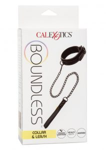 Boundless Collar andamp; Leash - Black