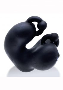 Meatlocker Silicone Chastity - Black/Frost