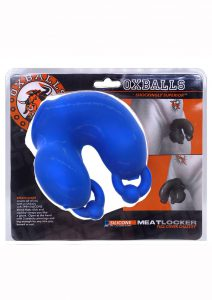 Meatlocker Silicone Chastity - Blue/Frost