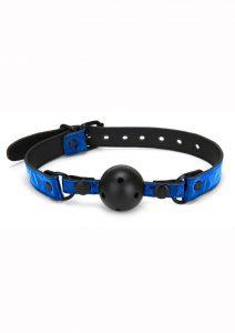 Whipsmart Deluxe Ball Gag - Blue