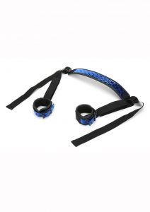 Whipsmart Deluxe Sex Sling with Ankle Restraints - Blue