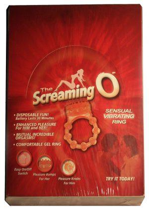 Screaming O Vibrating Ring Disposable 24 Per Display