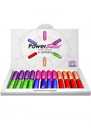 Power Bullet Bullet Display - Multi-Color (24 Per Fishbowl)