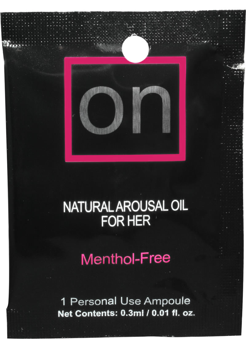 Sensuva On Natural Arousal Oil For Her .3ml (24 Per Refill)
