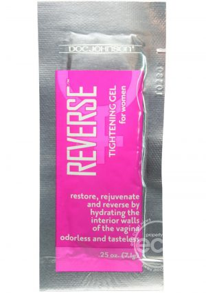 Doc Johnson Reverse Tightening Gel For Women 0.25oz (100 Per Bowl)