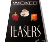 Wicked Teasers Lubricant Counter Display (12 Packs Per Display)