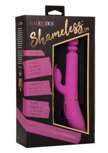 Shameless Slim Player Silicone Rechargeable Rabbit Vibrator - Fuchsia
