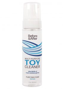 Before and After Foam Toy Cleaner 7.5oz