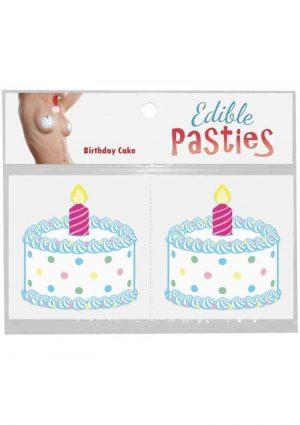 Birthday Cake Pasties Cake Flavored