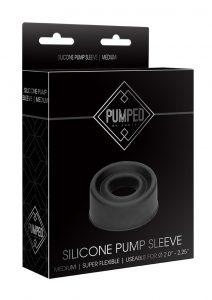 Pumped Silicone Pump Sleeve - Medium - Black