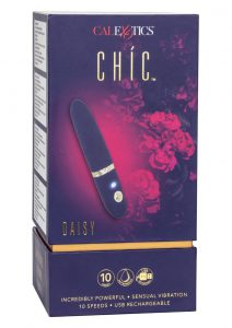 Chic Daisey Silicone Rechargeable Stimulator - Blue