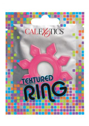 Foil Pack Textured Cock Ring