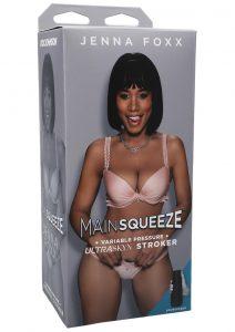 Main Squeeze Jenna Foxx Ultraskyn Masturbator - Pussy - Chocolate
