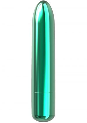 PowerBullet Bullet Point Rechargeable Vibrator - Teal