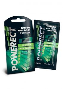 Powerect Natural Delay Serum 36 Foils Per Counter Display