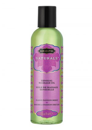Naturals Massage Oil 2oz - Island Passion Berry