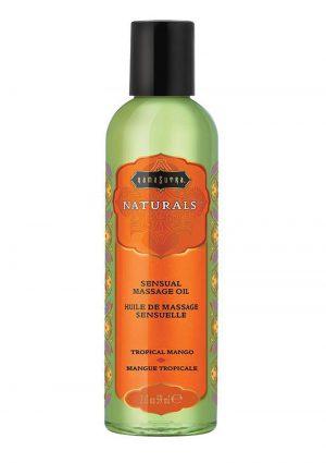 Naturals Massage Oil 2oz - Tropical Mango