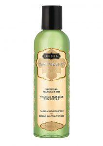 Naturals Massage Oil 2oz - Vanilla Sandalwood
