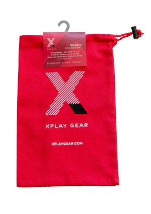 Ultra Soft Gear Bag 100% Cotton 8in x 13in (1 Pack) - Red