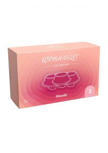 Womanizer Eco Heads Rose Small (3 Per Pack) - Pink