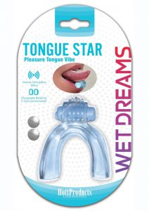 Pleasure Tongue Vibe Oral Stimulator - Blue