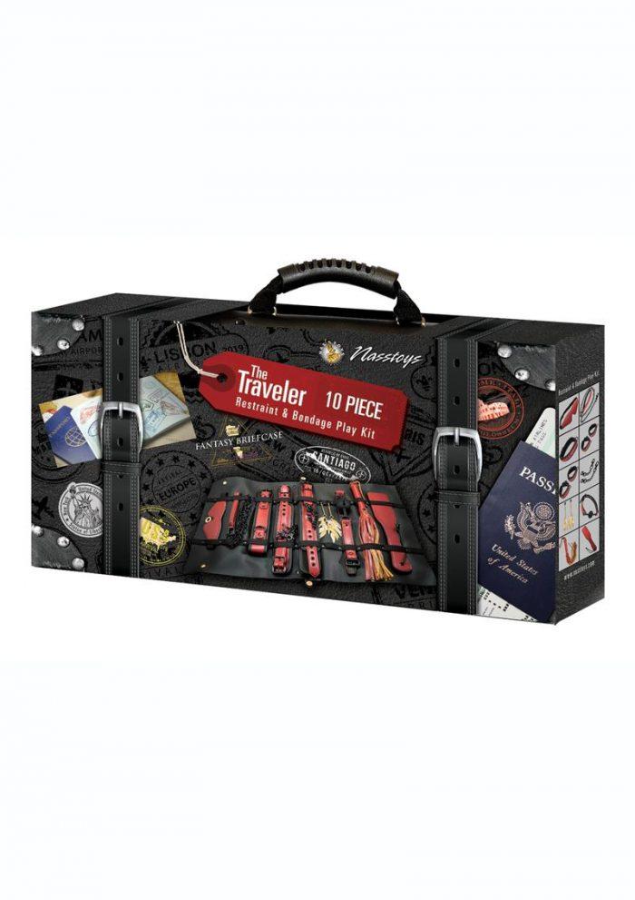 Traveler 10pc Restraintand Bondage Kit