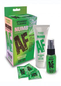 Numb AF Kit Spearmint Flavor (Set of 3)
