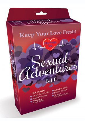 Sexual Adventures Kit (Set of 8)