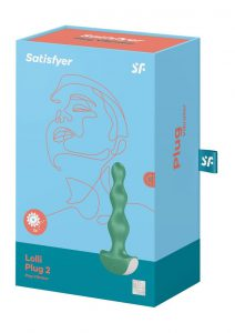 Satisfyer Lolli-Plug 2 Silicone Anal Beads - Green