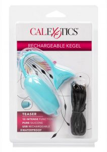 Rechargeable Silicone Kegel Teaser - Blue