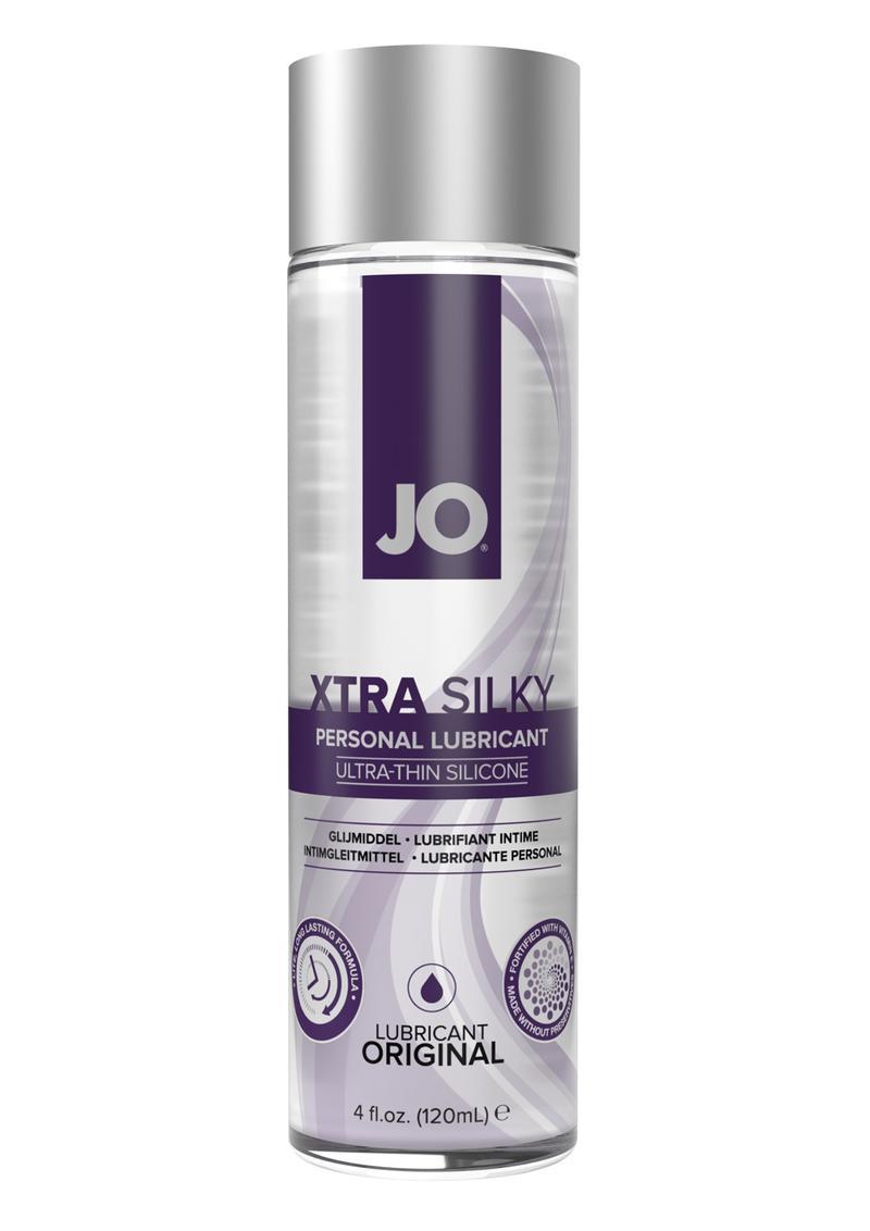 Jo Xtra Silky Thin Silicone Lubricant 4oz