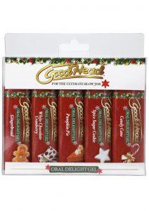 GoodHead Oral Delight Gel - Holiday 5 Pack - 1 fl. oz.