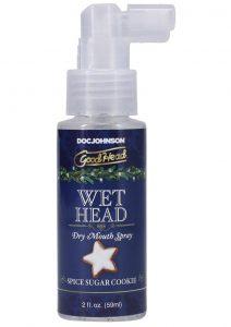 GoodHead Holiday Wet Head Dry Mouth Spray 2oz - Spice Sugar Cookie